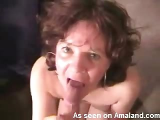 Amateur milf cock eater in POV