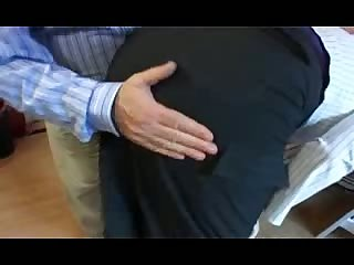 Fat wife ass spanked