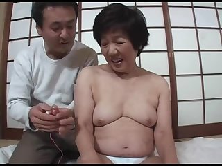 Japanese mature takes toys