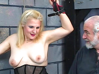 Mature fucking in wild BDSM