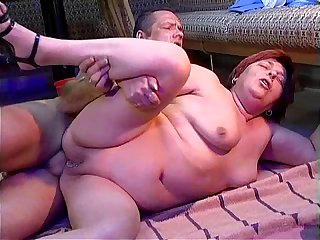 Pierced mature cunt has hardcore sex