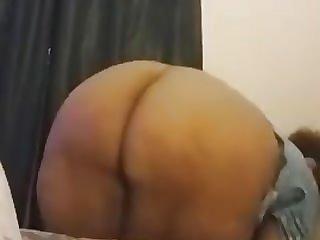 Big ebony mature ass