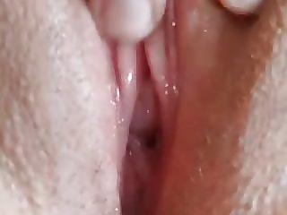Ann Masturbating