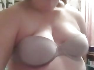 Ssbbw german girl stripping