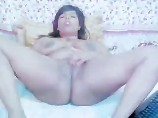 Indian on Webcam